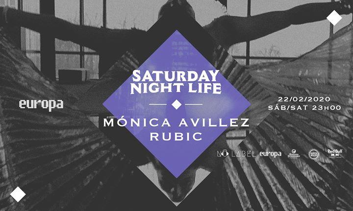 Mónica Avillez ✚ Rubic - Saturday Night Life at Europa // 22.02