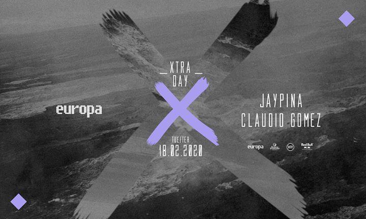 Jaypina ✚ Claudio Gomez - Europa's Xtra Day // 18.02 // 3.ª/Tue