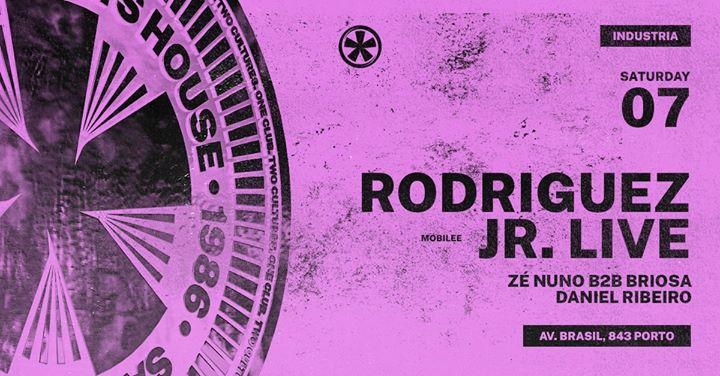 Rodriguez Jr. (live) x Zé Nuno b2b Briosa x Daniel Ribeiro