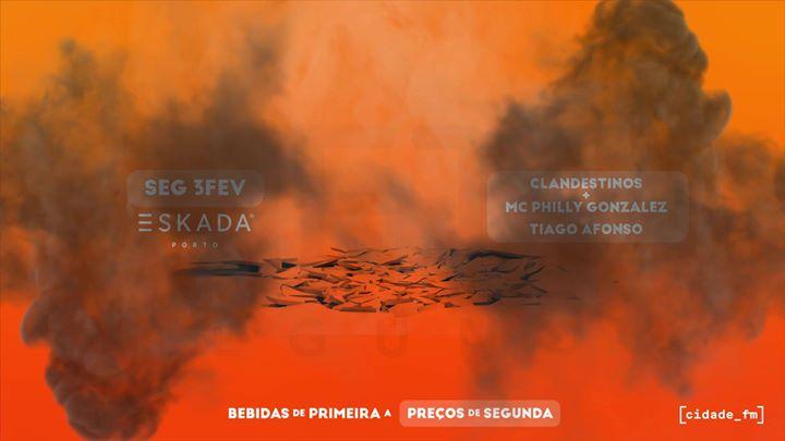 Mete Segunda Clandestina | 3 Fevereiro - Eskada Porto