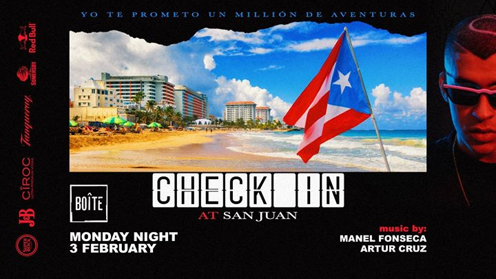 Check In • At San Juan | Boîte