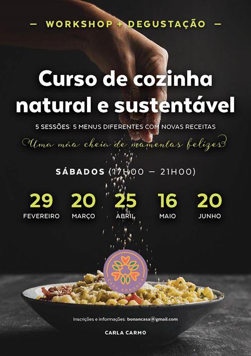 Curso de Cozinha Natural e Sustentável