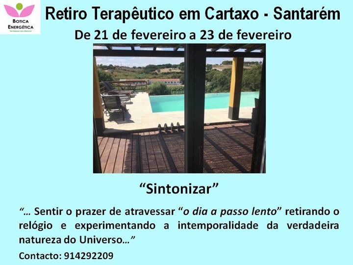 Retiro Terapêutico - Cartaxo