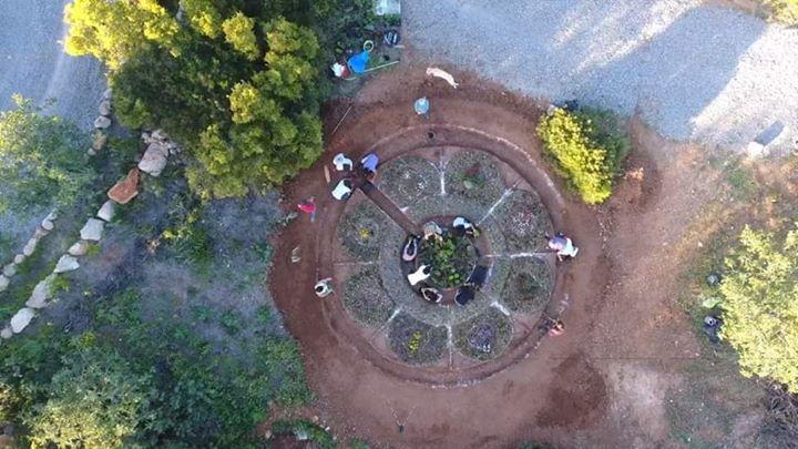 Mandalas em permacultura pelo mundo