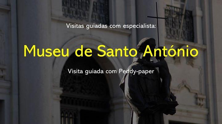 Visita guiada do Museu de Santo António com peddy-paper