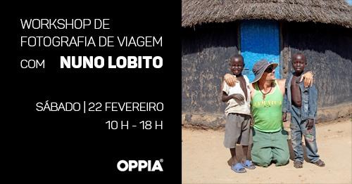 Workshop de Fotografia de Viagem com Nuno Lobito