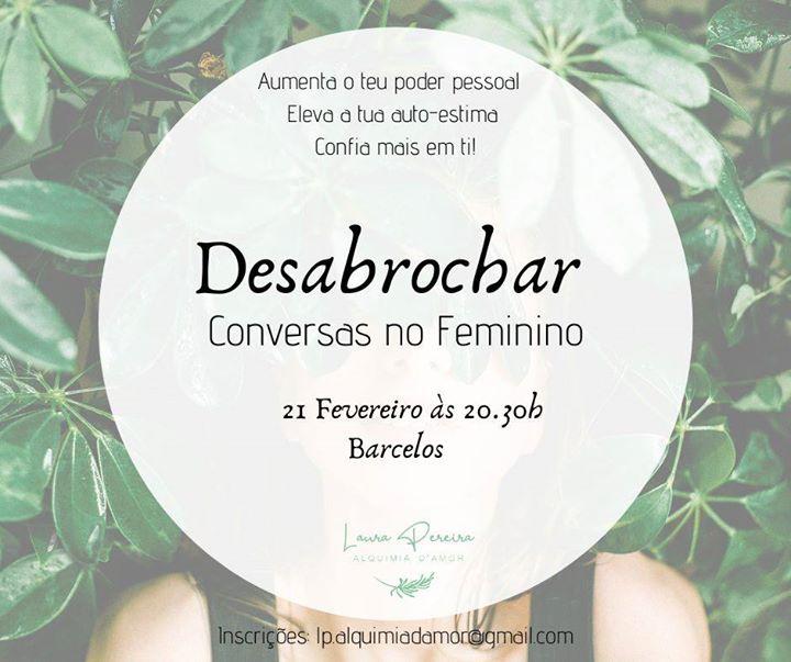 Desabrochar -Conversas no Feminino