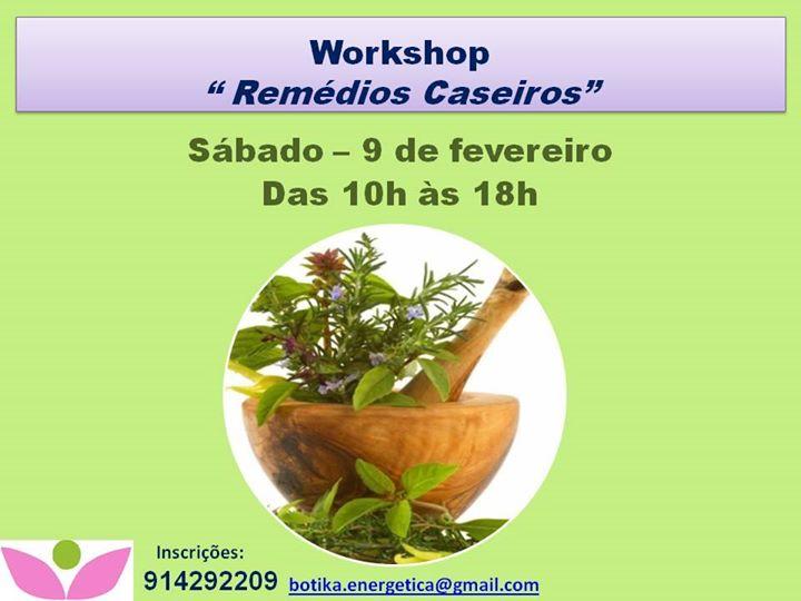 Workshop: Remédios Caseiros