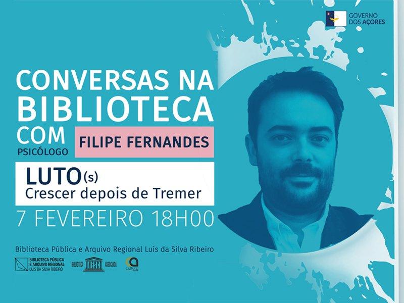 Conversas na Biblioteca com Filipe Fernandes