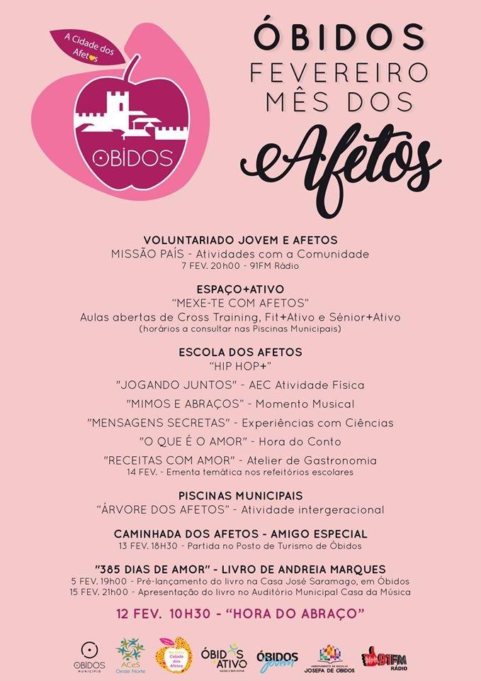 Óbidos | Fevereiro mês dos Afetos