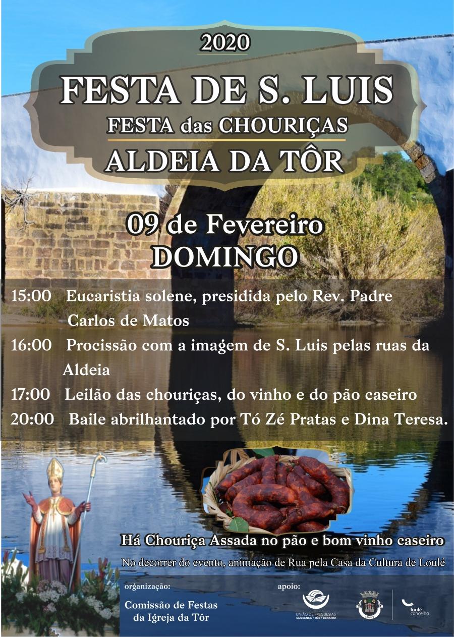 Festa das Chouriças em Honra de São Luis - Tôr