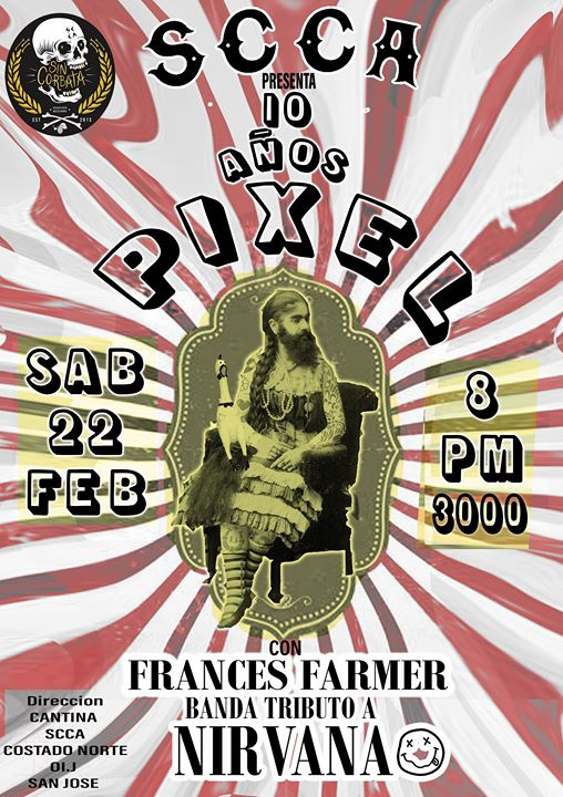 Pixel + Frances Farmer (Tributo a Nirvana)