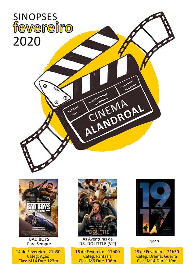 Cinema Alandroal - fevereiro
