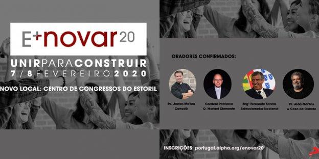 CONFERÊNCIA E+NOVAR 20 - UNIR PARA CONSTRUIR