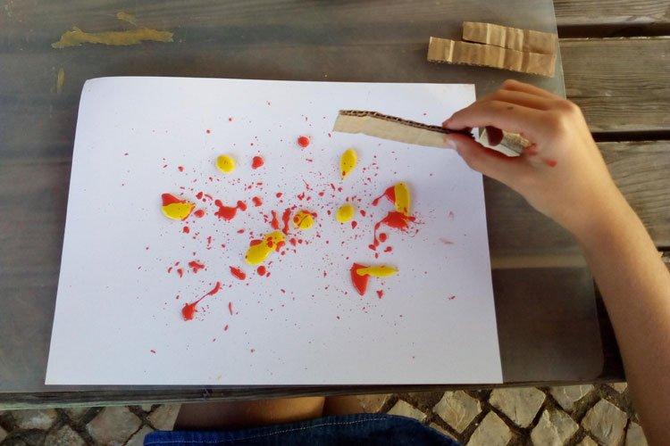 Pintura de Sopro
