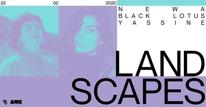 Landscapes w/ Black Lotus, Newa, Yassine