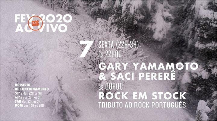Gary Yamamoto & Saci Pererê | Rock em Stock