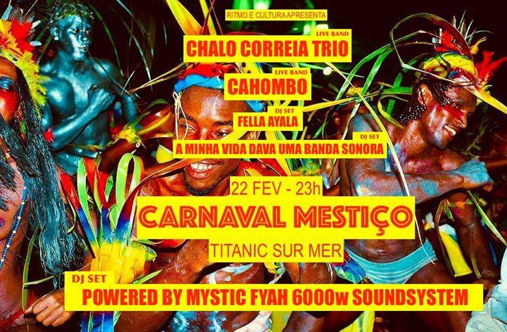 Carnaval Mestiço - De Angola ao Brasil em modo Jamaica