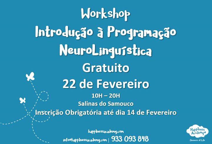 Workshop Introdução à Programação NeuroLinguística