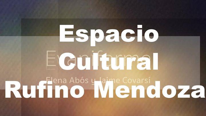 """Exposición """"Evaniforme"""" Elena Abós con textos de Jaime Covarsí."""
