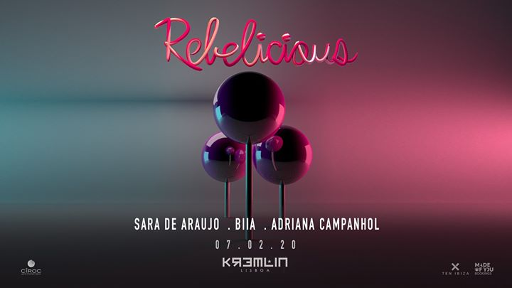 Rebelicious w/ Sara de Araujo