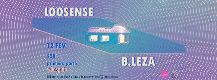 Loosense + Whosputo ao vivo no B.Leza
