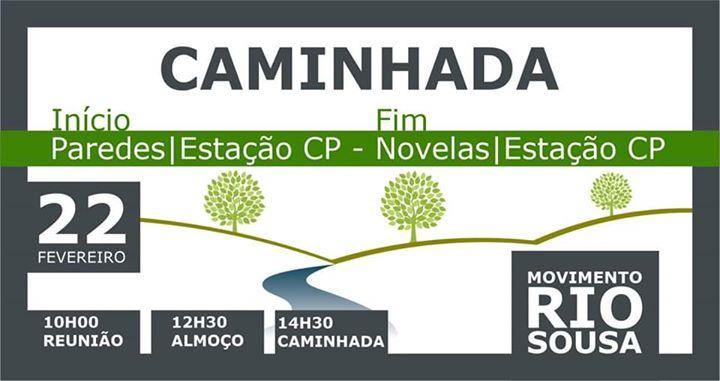 Caminhada Movimento Rio Sousa - Inscrição Obrigatória