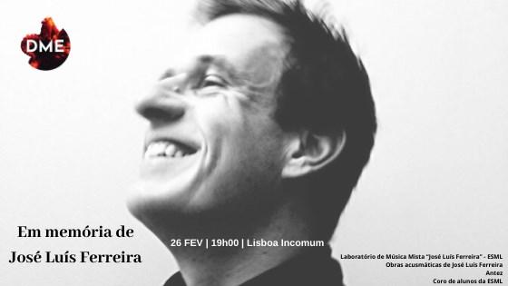 Em memória de José Luís Ferreira