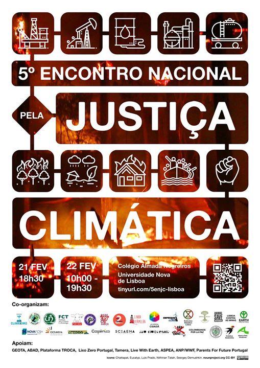5º Encontro Nacional pela Justiça Climática