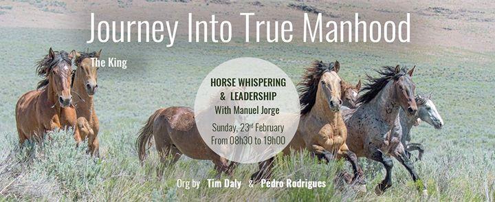 Journey into True Manhood - Horse Whispering and Leadership