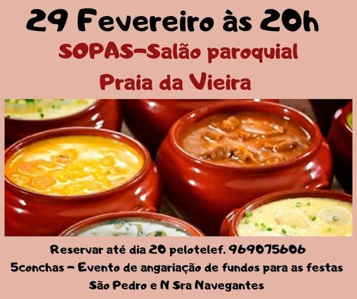 Festa das Sopas na Praia da Vieira