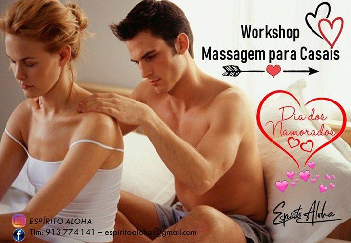 Workshop Massagem Casal São Valentim - Sintra
