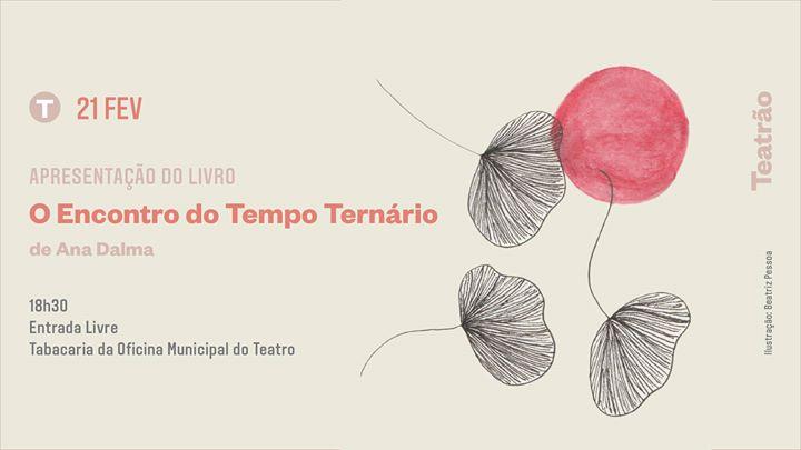 Apresentação do livro 'O Encontro do Tempo Ternário', Ana Dalma
