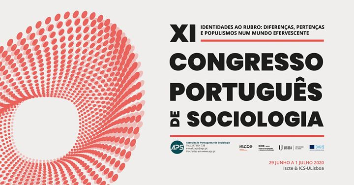 XI Portuguese Congress of Sociology
