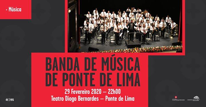 Banda de Música de Ponte de Lima - Teatro Diogo Bernardes