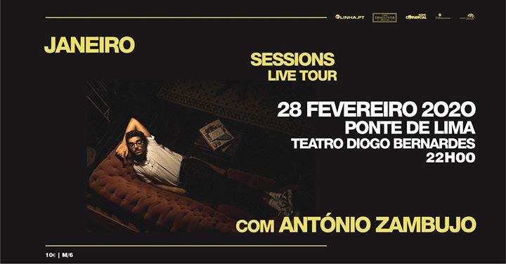 Janeiro Sessions Live Tour com António Zambujo