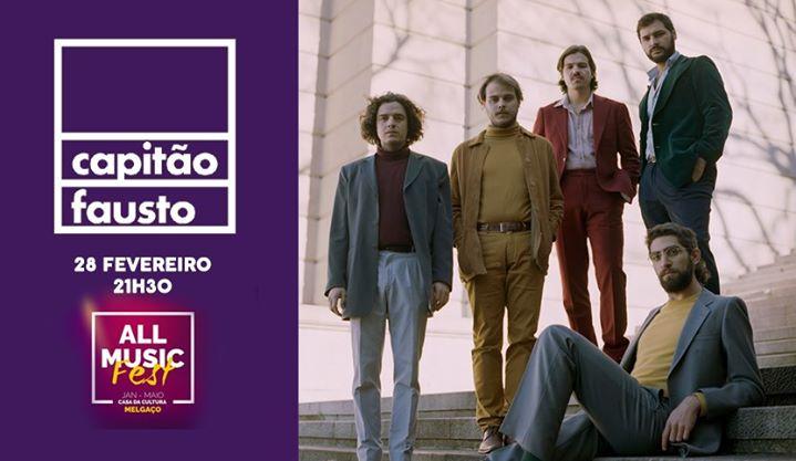 Capitão Fausto ao vivo em Melgaço | All Music Fest