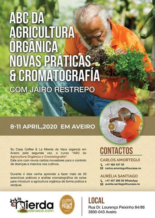 Curso ABC da Agricultura Orgânica e Cromatografía