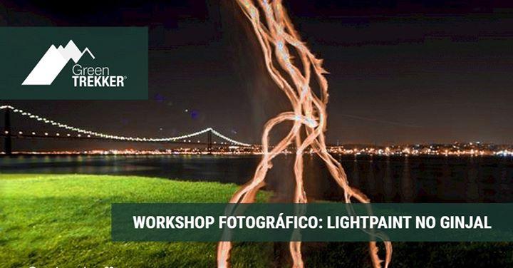 Workshop Fotográfico: LightPaint no Ginjal