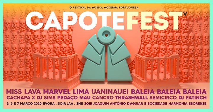 Capote Fest 2020 | Évora
