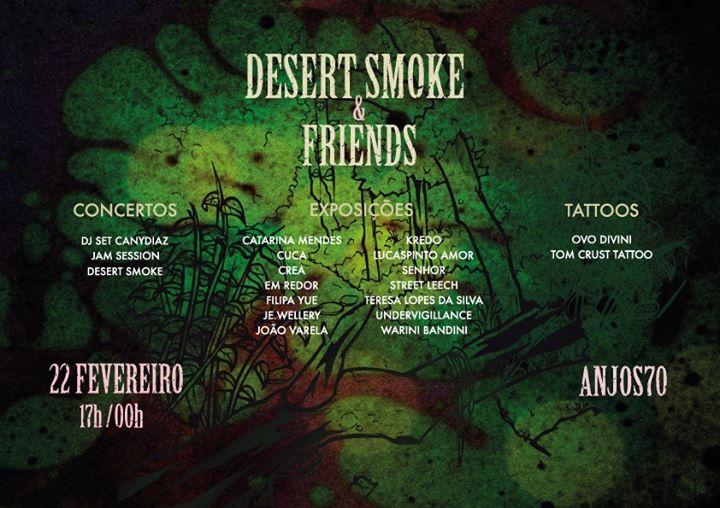 Desert'Smoke & Friends
