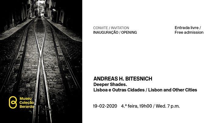 Convite | Inauguração: Andreas H. Bitesnich. Deeper Shades