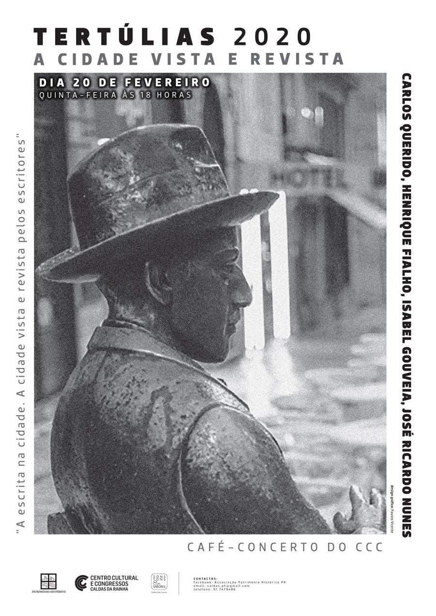 Tertúlias PH | A escrita na cidade. A cidade vista e revista