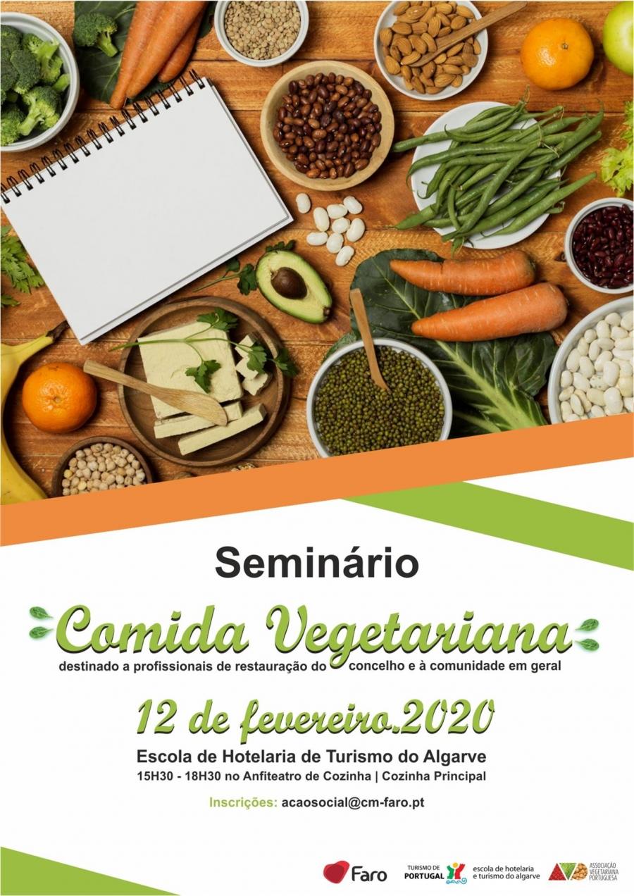 Seminário 'comida vegetariana'