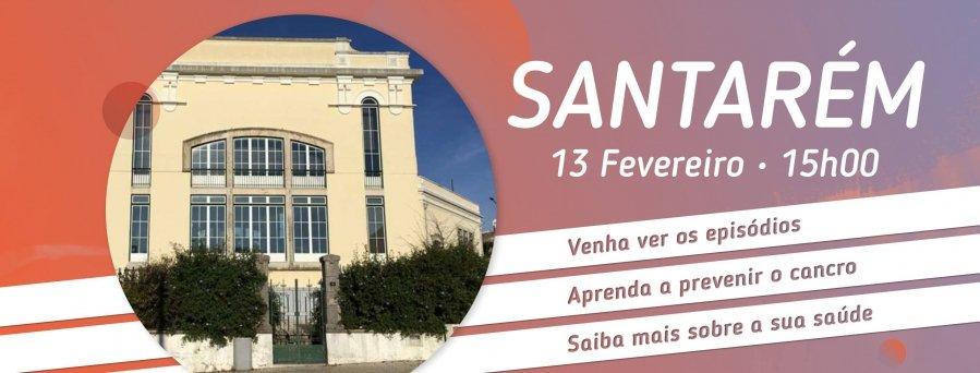 Sessão 2' Minutos para mudar de vida // Santarém