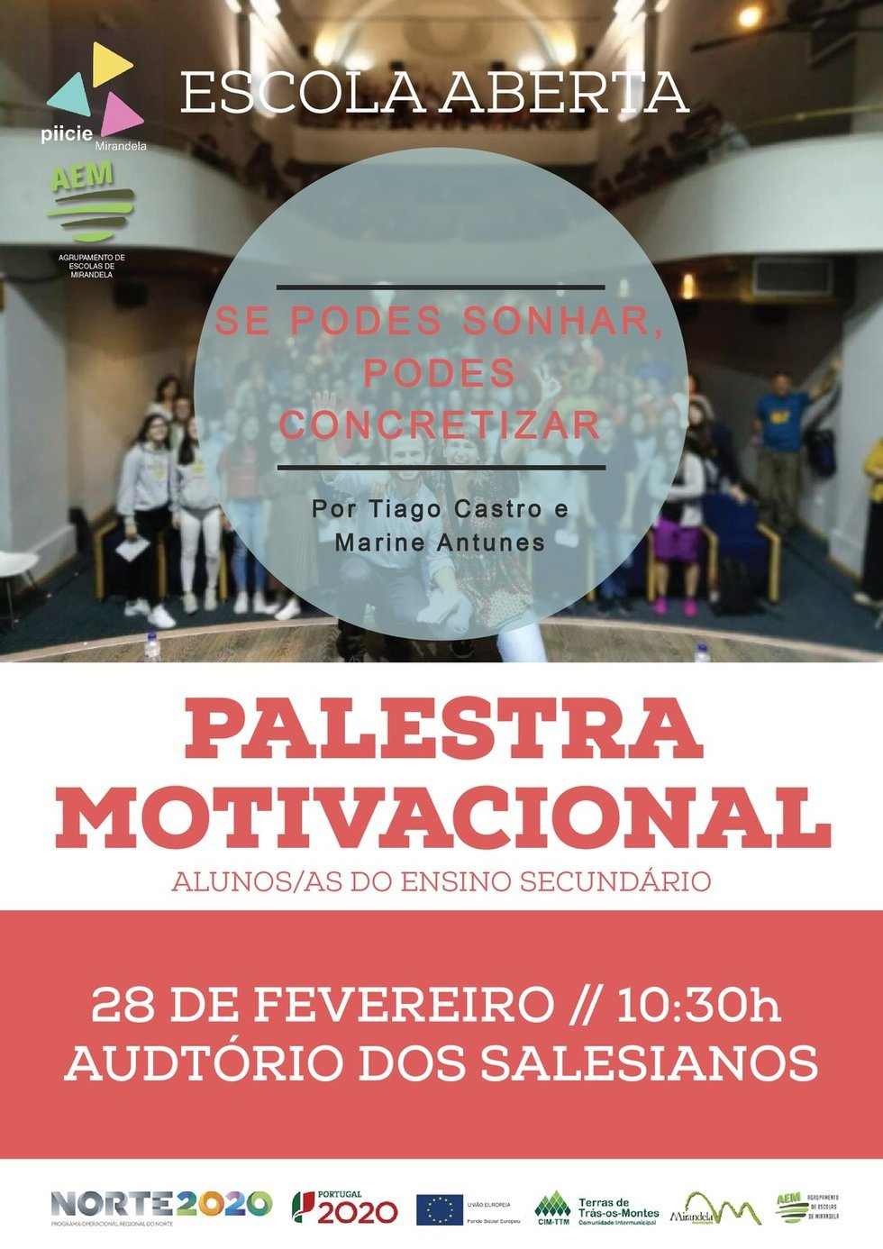 Palestra Motivacional - PIICIE