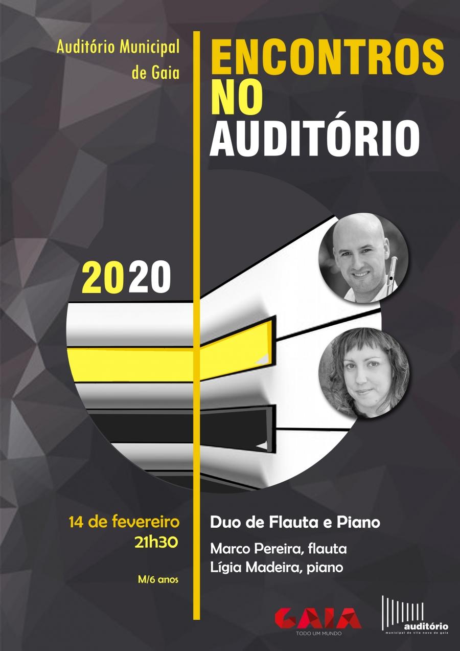 Encontros no Auditório - Flauta e Piano