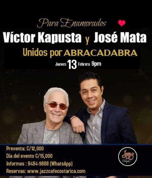 Victor y Jose Mata Unidos por ABRACADABRA