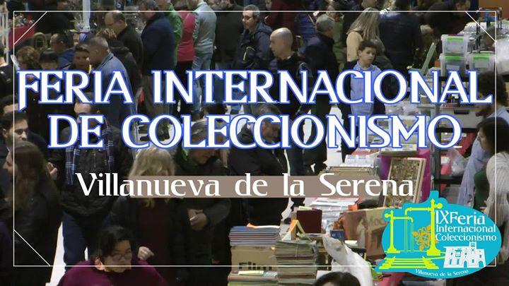 IX Feria internacional del coleccionismo.