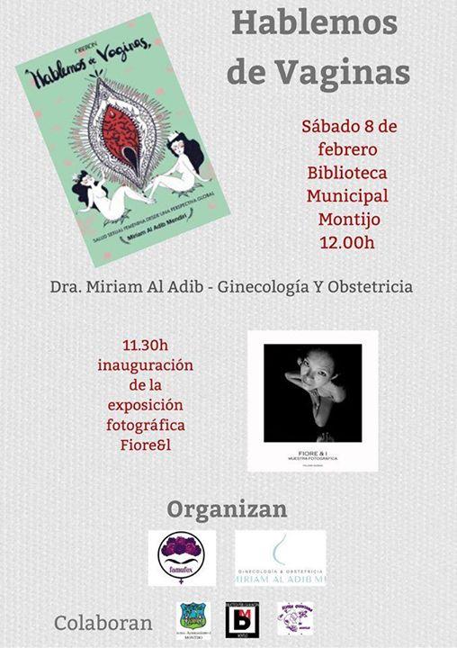 Presentación de 'Hablemos de vaginas' y exposición 'Fiore&I'